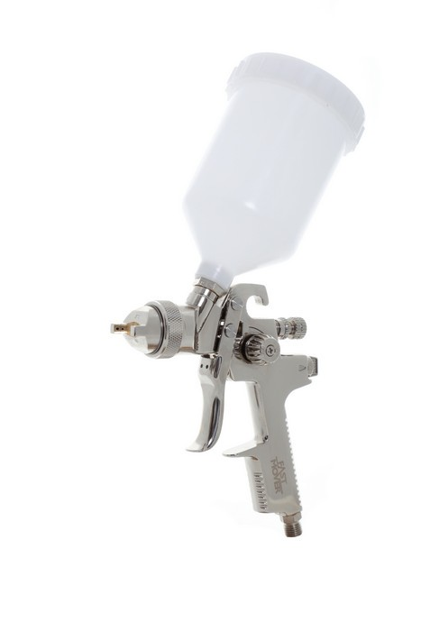 PROFESSIONAL HVLP GRAVITY SPRAY GUN IDEAL FOR TOPCOAT & PRIMER
