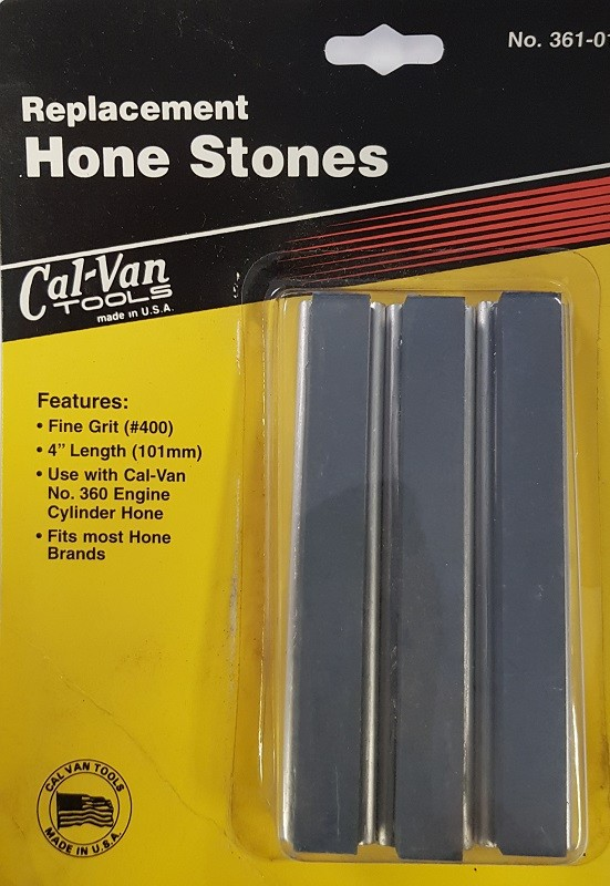 """REPLACEMENT HONE STONES 4"""" FROM CAL-VAN TOOLS USA"""