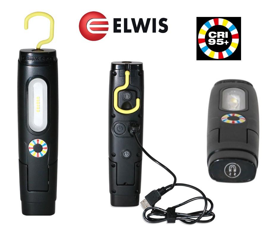 POWERFUL FLEXI LED INSPECTION LAMP / LIGHT 250 LUMENS ELWIS