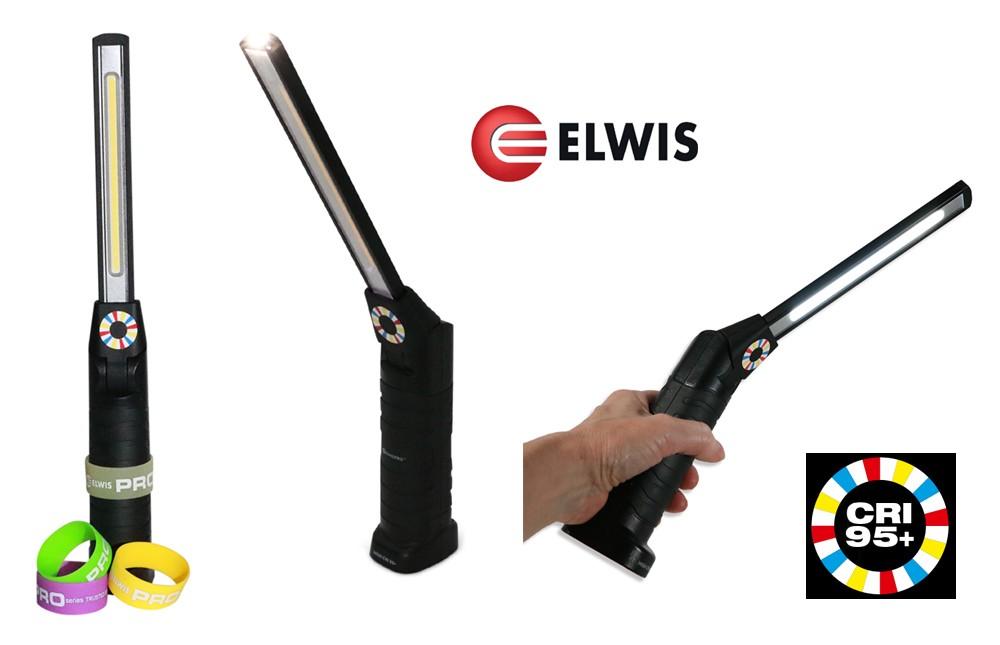 POWERFUL 5W SLIMLINE FLEXI COB LED INSPECTION LAMP / LIGHT 420 LUMENS ELWIS