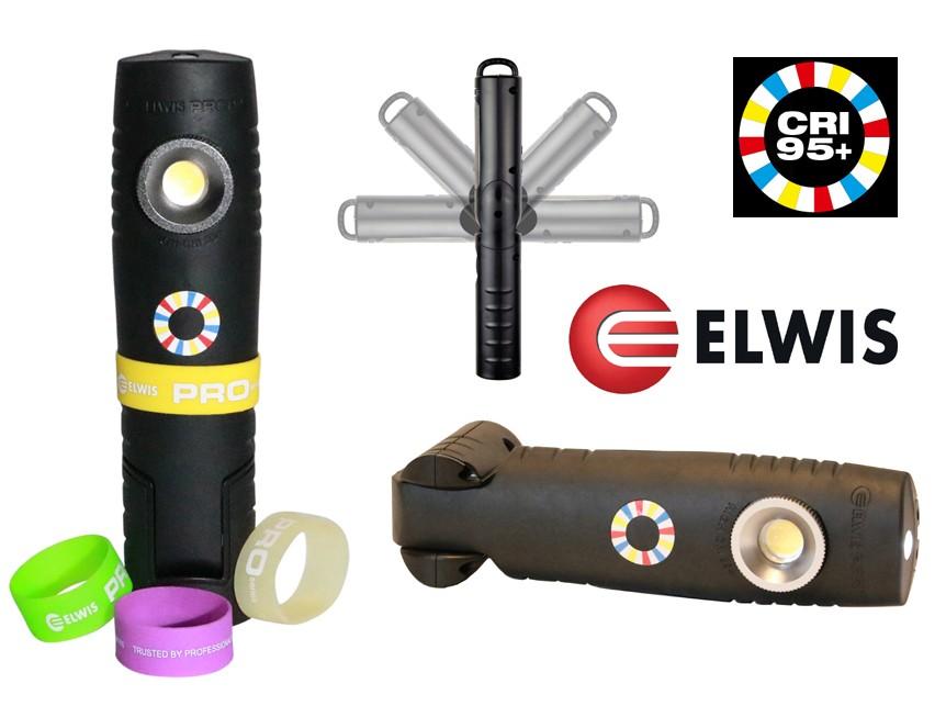 POWERFUL 6W FLEXI COB LED INSPECTION LAMP / LIGHT 500 LUMENS ELWIS