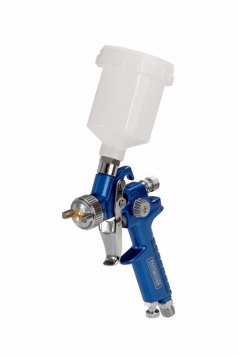 PROFESSIONAL HVLP GRAVITY MINI SPRAY GUN IDEAL FOR TOUCH-UPS & ALLOY WHEELS