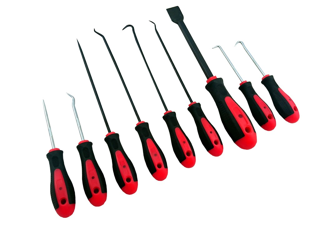 9 PIECE HOOK & PICK SET WITH SCRAPER BRITOOL HALLMARK