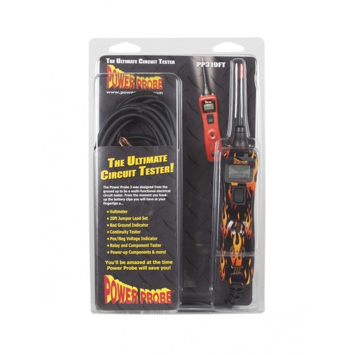 POWER PROBE 3 (III) 12-24V DIAGNOSTIC AUTOMOTIVE PROBE WITH FLAME DESIGN POWER PROBE 3 (III)