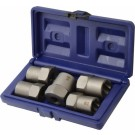 IRWIN 5 PIECE BOLT GRIP NUT REMOVER EXTRACTOR SET SIZES 19,21,22,24,25MM, 54125