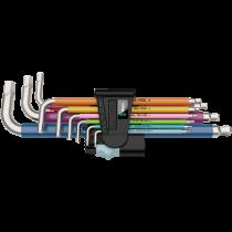 9PC HEXAGON / ALLEN METRIC KEY SET STAINLESS STEEL 1.5-10MM 3950/SPKL WERA TOOLS