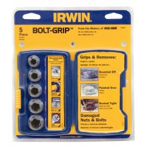 BOLT GRIP SET FOR DAMAGED OR ROUNDED NUTS & BOLTS FROM IRWIN TOOLS