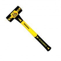 4LB MINI SLEDGE HAMMER WITH SOLID CORE FIBERGLASS HANDLE FROM ROUGNECK