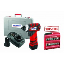 "ACDELCO ARI1277 10.8V HIGH POWER IMPACT DRIVER + FREE FACOM 1/4"" SCREWDRIVER BIT SET"