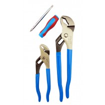 WATER PUMP / TONGUE & GROOVE PLIERS SET CHANNELLOCK