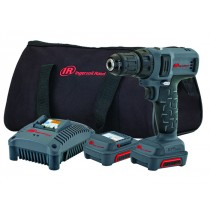 INGERSOLL RAND D1130EU-K2 12V DRILL/DRIVER KIT WITH 3/8 INCH CHUCK