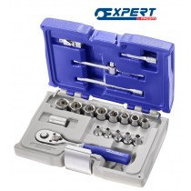 "SOCKET SET 1/4"" DRIVE 19 PIECES FROM EXPERT BY FACOM"