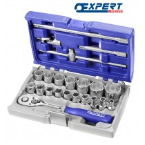 "SOCKET SET 1/2"" DRIVE 22 PIECES FROM EXPERT BY FACOM"
