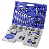 MIXED DRIVE 124 PIECE TOOL KIT IN CASE FROM FACOM EXPERT