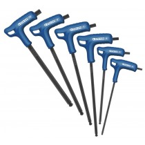 6PC T HANDLE HEXAGON / ALLEN POWER KEY SET FACOM EXPERT