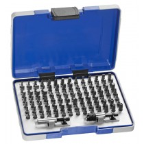 100PC SCREWDRIVER BIT SET PZ | PH | STAR | ALLEN FACOM EXPERT
