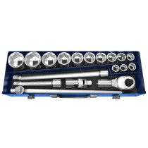 "3/4"" DRIVE 18 PIECE METRIC SOCKET & RATCHET SET FROM FACOM EXPERT"
