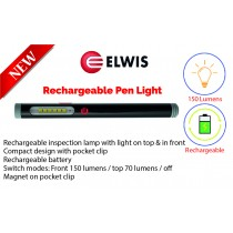 RECHARGEABLE LED PEN LIGHT 150 LUMENS ELWIS