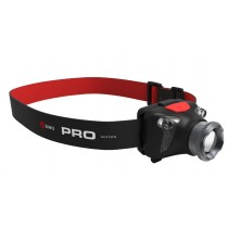ELWIS RECHARGEABLE HEADLAMP / TORCH, 2 LIGHT MODES & RED LED'S FOR NIGHT VISION