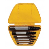 6 PIECE SCREW EXTRACTOR SET FROM GENIUS