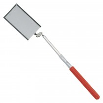 TELESCOPIC HINGED SQUARE INSPECTION MIRROR FROM GENIUS TOOLS