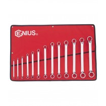 13PC METRIC OFFSET RING / BOX END WRENCH / SPANNER SET 6-32MM FROM GENIUS TOOLS