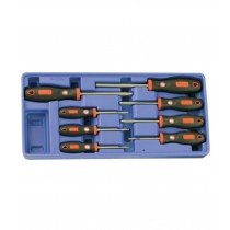 "10PC 3/8"" DR. METRIC HEX BIT SOCKET SET GENIUS TOOLS BS-310HM"