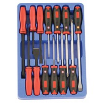 17PC COMBINATION SCREWDRIVER SET GENIUS TOOLS TL-517X