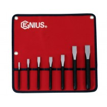 7PC FLAT COLD CHISEL SET FROM GENIUS TOOLS PC-567F