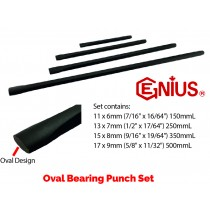 4PC OVAL BEARING PUNCH SET FROM GENIUS TOOLS PC-BP4