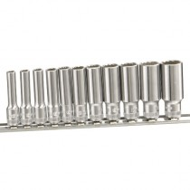 "DEEP 1/4"" SOCKET SET (12 POINT) FROM GENIUS TOOLS"