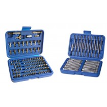 100PC SCREWDRIVER BIT SET + 50PC EXTRA LONG BIT SET