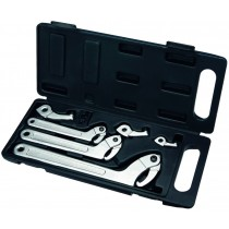 11PC HOOK & PIN WRENCH SET / C SPANNER SET FROM BRITOOL HALLMARK