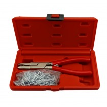 HOG RING PLIERS & CLIP SET FROM BRITOOL HALLMARK