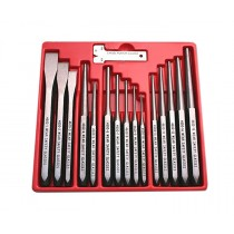 15PC PUNCH & CHISEL SET BRITOOL HALLMARK HMPC16