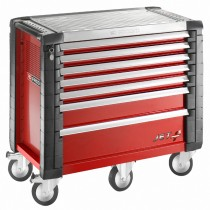 7 DRAWER WIDE RED ROLL CAB JET RANGE FROM FACOM
