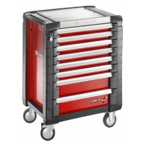 FACOM TOOLS JET.8M3 8 DRAWER RED ROLL CAB