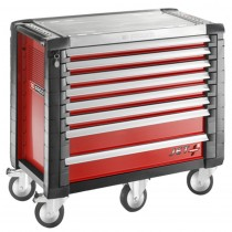 8 DRAWER RED WIDE ROLL CAB JET RANGE FROM FACOM