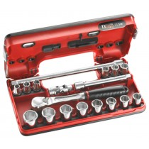 "SOCKET SET 3/8"" SQ DR FROM FACOM TOOLS J.360DBOX1"