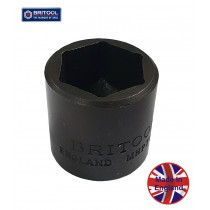 "BRITOOL ENGLAND 3/8"" SD STANDARD IMPACT SOCKET 5/16"" AF MHP312"