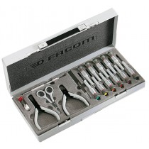 MICROTECH PRECISION SCREWDRIVER & PLIERS TOOL SET FACOM
