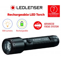 LEDLENSER POWERFUL LED RECHARGEABLE TORCH (500 LUMENS) 7 YEAR WARRANTY