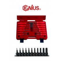 13PC STAR SCREWDRIVER SET GENIUS TOOLS TX-513T