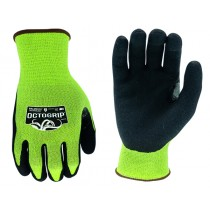 OCTOGRIP CUT RESISTANT WORK GLOVES SIZE MEDIUM