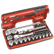 "1/2"" SOCKET, RATCHET, UJ & EXTENSION BAR SET FROM FACOM"