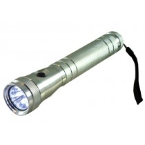 LED TORCH WITH POWERFUL XENON BULB ADJUSTABLE FOCUS ALUMINIUM BODY