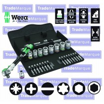 "3/8"" DRIVE METRIC SOCKET SET 29 PIECE FROM WERA TOOLS 8100SB6"